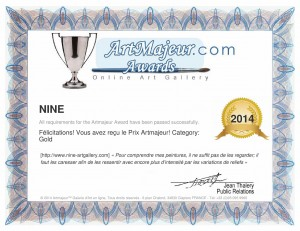 Art Majeur Gold Award Nine