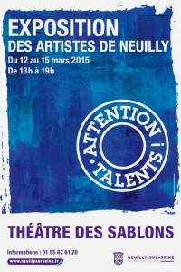 Exposition Neuilly sur Seine Attention Talents 2015 - Nine
